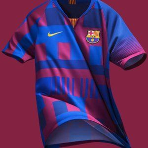 Nike FC Barcelona Jersey 18-19 Season 20th Anniv